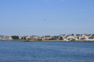 Metedonk River at the northern end of Barnegat Bay
