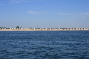 The beach at Manasquan