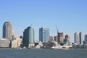 Jersey City from the Hudson River