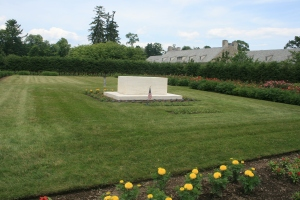 Grave of FDR and Eleanor Roosevelt