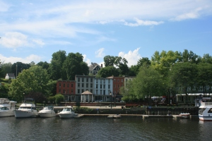 Kingston Waterfront from Rondout Creek