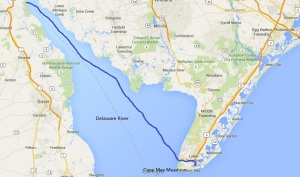 Reedy Island to Cape May