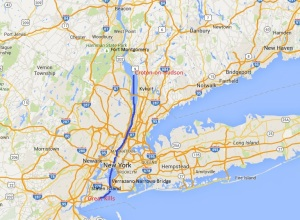 Staten Island to Croton -on-Hudson