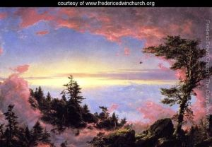 Above the Clouds at Sunrise, Frederic Church