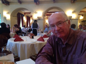In the Catherine d'Medici Restaurant