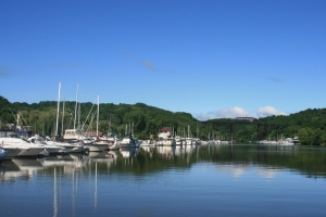 Leaving Rondout Yacht Basin
