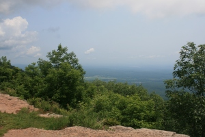 Looking east over the Hudson Valley from the Mountain House
