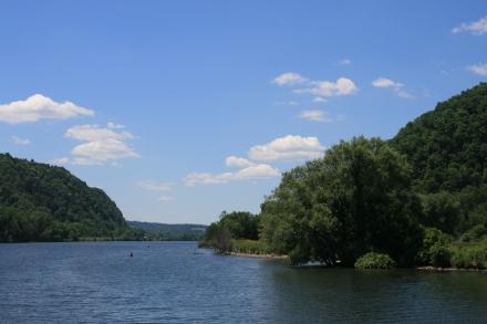 Mohawk River near Canajoharie