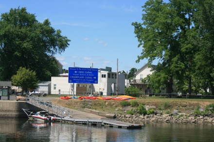 Start of the Erie Canal