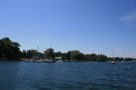 Leaving Prinyers Cove