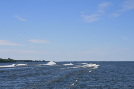 Racing in the Bay of Quinte