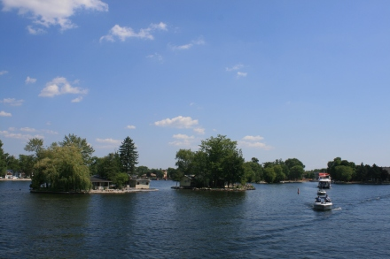 Leaving Bobcaygeon Lock