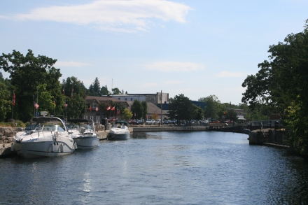 The Lock Wall, Fenelon Falls
