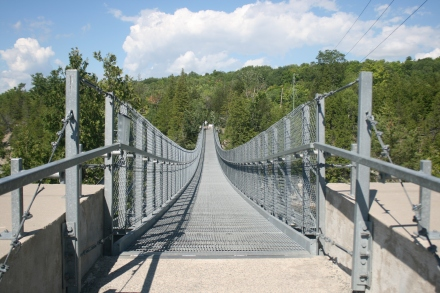 Ranney Suspension Bridge, Campbellford