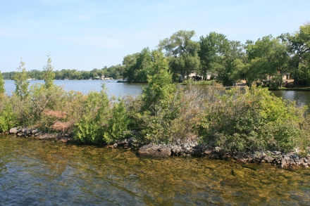 The channel at Fenelon Falls