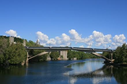 Bridge at Trent University