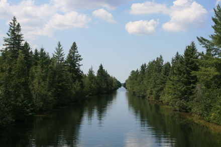 Trent Canal, top of Balsam Lake