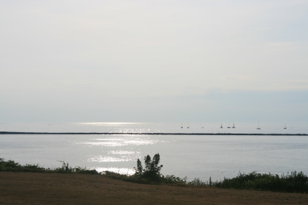 Lake Ontario from the Fort