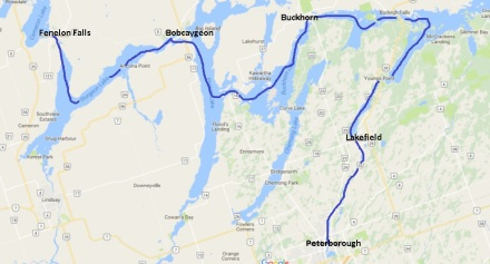 Peterborough to Fenelon Falls