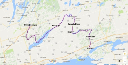 Trenton to Peterborough