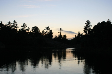 Daybreak at Echo Bay