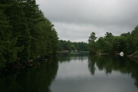 Severn River beyond Sparrow Lake