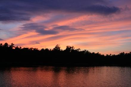 Sunset at Eureka Point