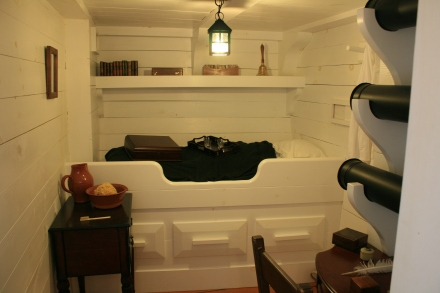 The Captain's Cabin, HMS Tecumseth