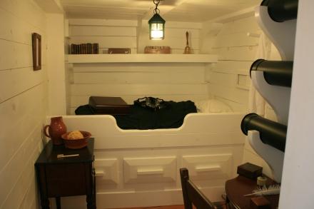 The Captain's Cabin, HMS Tecumseth