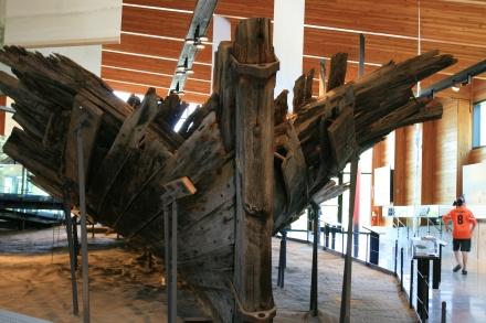 Wreck of HMS Tecumseth