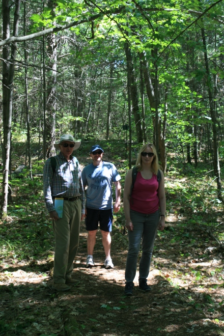 On Portage Trail, Beausoleil Island