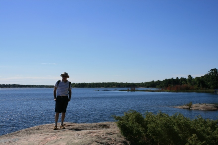 McCabe Rock, Beausoleil Island