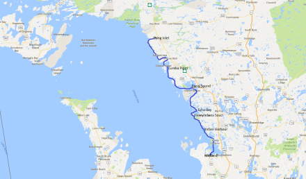 Midland to Byng Inlet