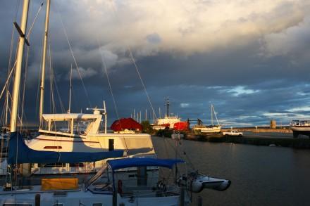 IMG_0001Evening sun on the boats, Mackinaw City