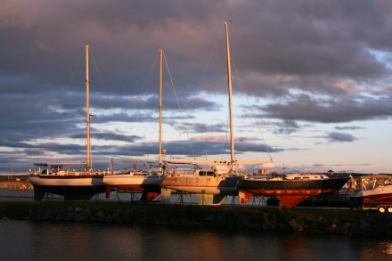 IMG_0003Evening sun on the boats, Mackinaw City