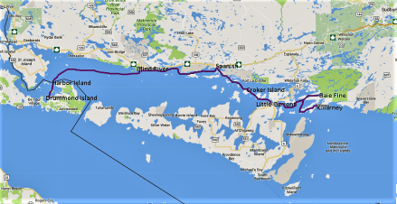 UntitledKillarney to Drummond Island
